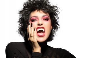 Beauty Gothic Girl. Vampire Makeup