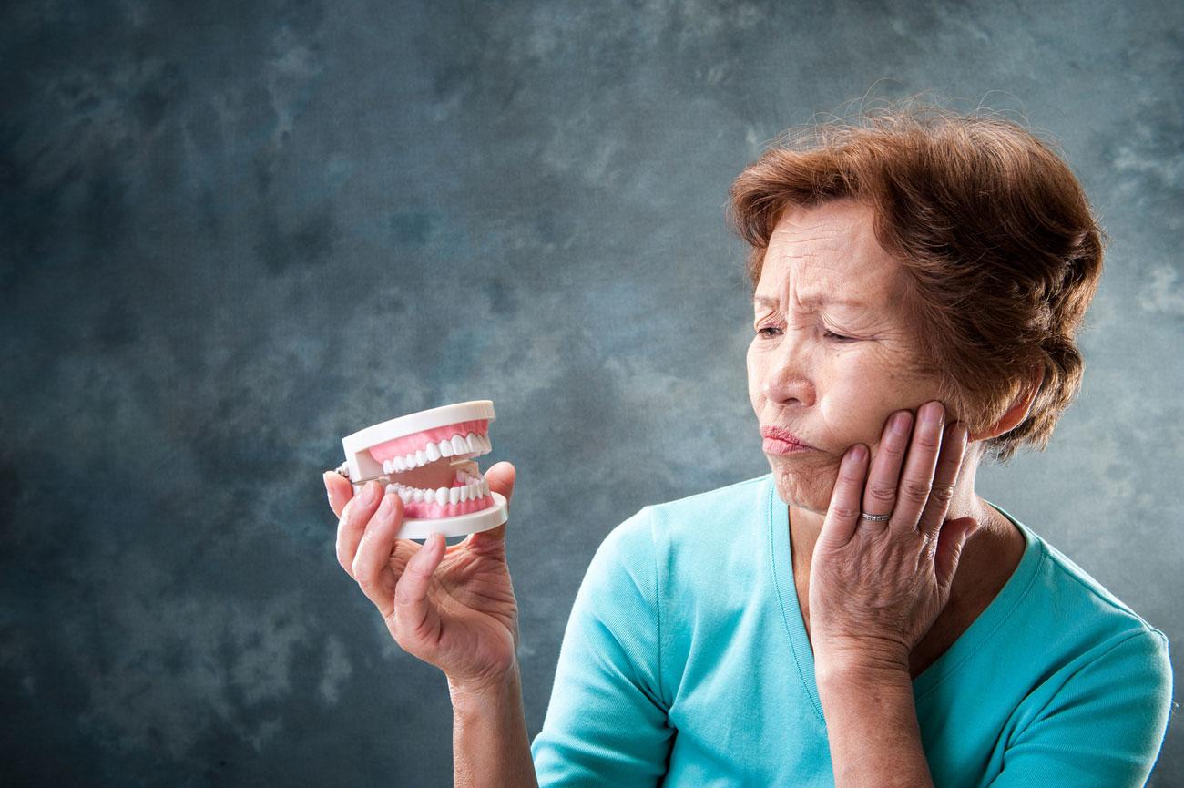 歯が無くなると老化に関係なくシワが増える!?
