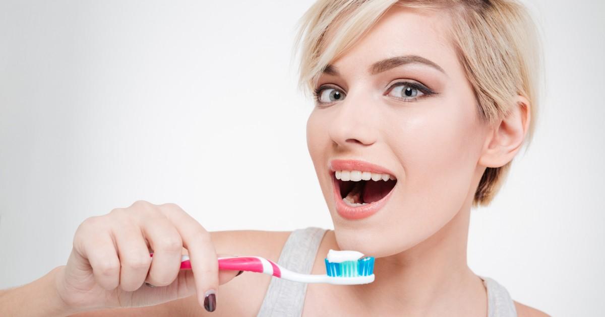 歯を白くするっていうホワイトニングの歯磨き粉